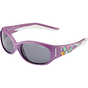 Alpina Flexxy Kids Bril Kinderen, purple flower